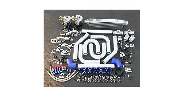 Nissan 300ZX alto rendimiento 14pcs T25 Twin Turbo Upgrade Kit de instalación: Amazon.es: Coche y moto