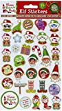 VIP Elf Puffy Stickers- Reward VIP Elf For Christmas Accessory