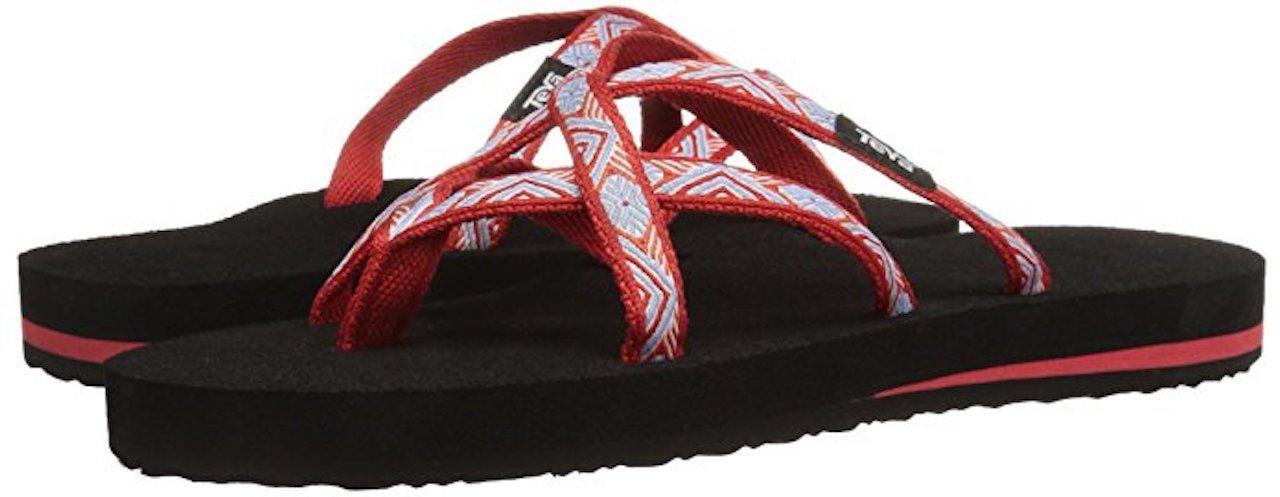 Teva Women's Olowahu Sandal B07CZ729KX 37 M EU / 6 B(M) US|Island Red