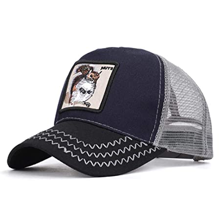 HUILIN Gallo Bordado Gorra de béisbol Hombres Mujeres Sombrero de ...