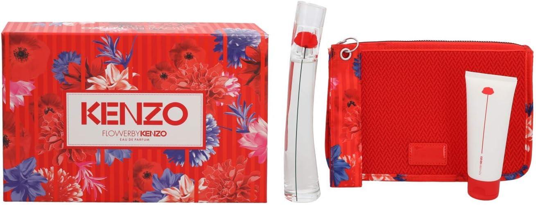 banner Kit Kenzo feminino Flower by Kenzo EDP 50ML + Loção Corporal 50ml + necessaire