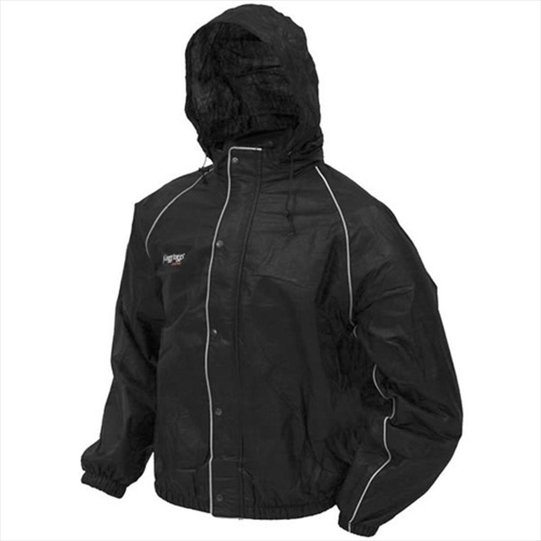 BILT Frogg Toggs Rain Jacket - XL, Black