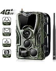 DUBAOBAO Cámara de Caza 4G 16MP, Trampa de cámara de Seguimiento 32GB 0.3 MMS/