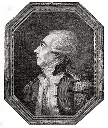 Marquis De La Fayette Marie-Joseph Paul Yves Roch Gilbert Du Motier 1757-1834 French Military Leader And Statesman Engraved By Pannemaker-Ligny After De La Charlerie From Histoire De La Revolution Fra