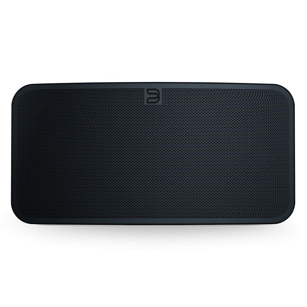 Bluesound Pulse 2i Wireless Multi-Room Smart Speaker with Bluetooth - Black - Works with Alexa and Siri
