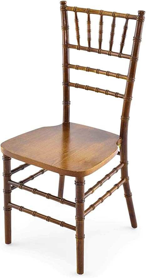 Amazon Com Eventstable 48 Light Fruitwood Wood Chiavari Chairs With 48 Covers And 1 Dolly Bundle Sturdy Wooden Chairs Versatile Party Chairs Chair Set For Wedding Restaurant Chairs
