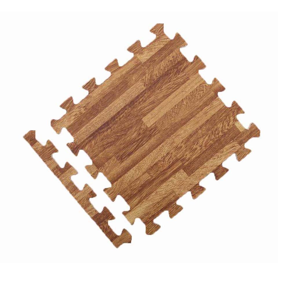 Baby Crawling Home Decoration Wood Grain Floor Mat
