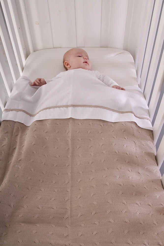 Babys Only 130929 Kinder Bettwäschebettbezug Zopf Gestrickt