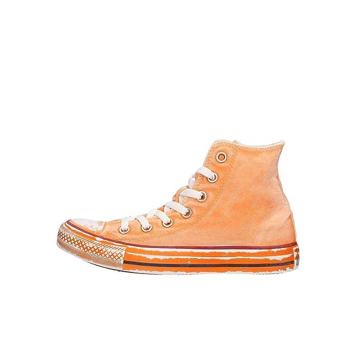 Converse Chuck Taylor (Chucks) All Star Sneaker Unisex Erwachsene High Top Orange