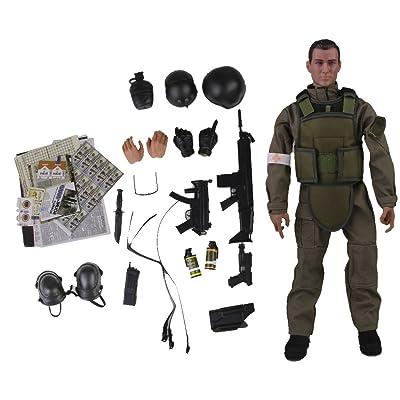 1/6 Soldat Medic Figurine 12 Pouces Nb04a
