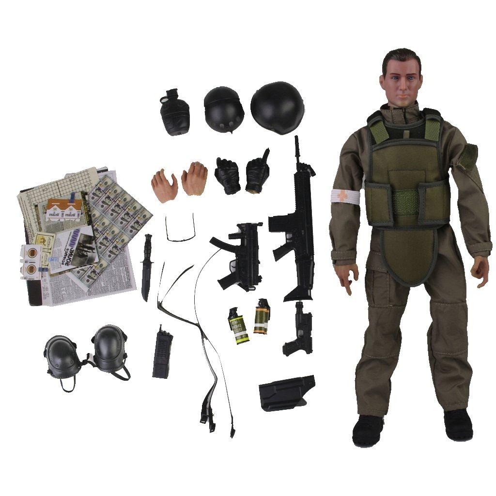 1.6 Soldado Medico Figura De Accion De 12 Pulgadas Nb04a Generico JPA15015209