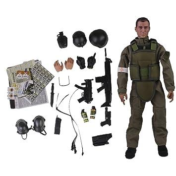 16 Medic Juguete Sanitario Figura Ejército Mini De Soldado Acción tshQrCd