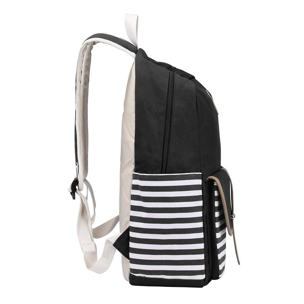 f69aea238132 Danny®French Breton Nautical Striped Backpack Marine Sailor Navy Stripy Bag  for Teenager Girls and Boys Lightweight Cute Waterproof Casual Daypack  Holds 14 ...