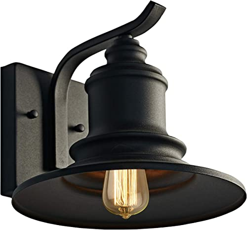 MOTINI Outdoor Barn Wall Light Fixture Farmhouse Rustic Style Wall Sconce