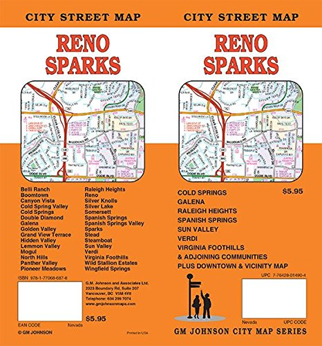 Reno / Sparks, Nevada Street Map