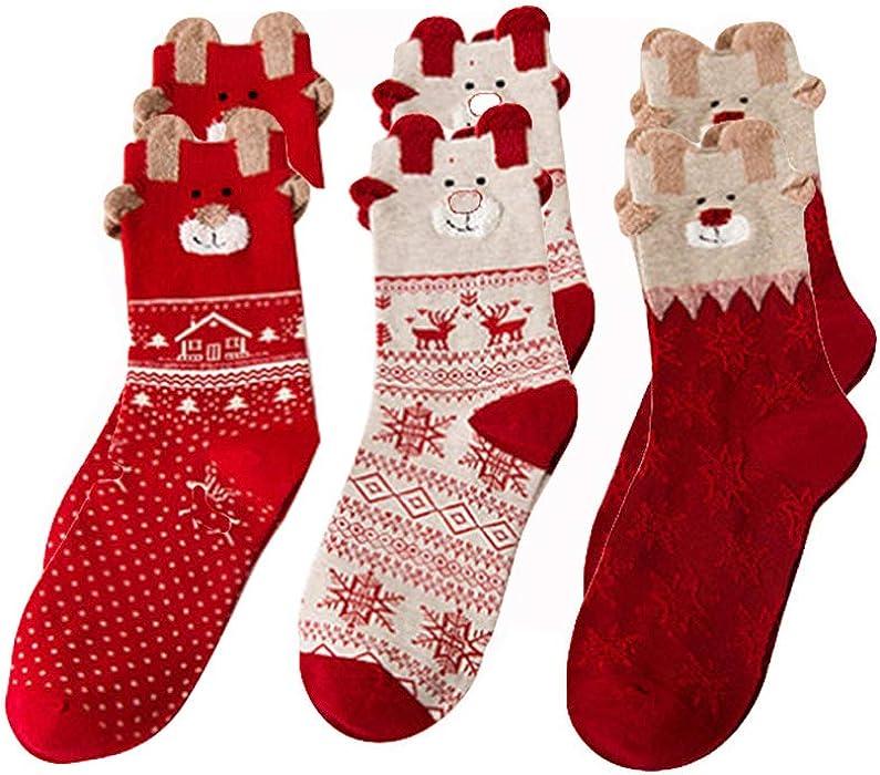 Herren Wintersocken Baumwollmischung Damen Thermosocken Ski Winter Warm beste