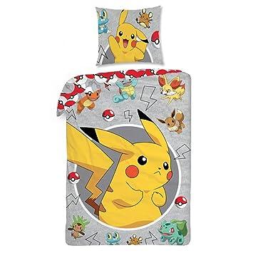 Pokemon Bettwasche Kinder Bettwasche 140x200 Cm Oeko Tex Standard