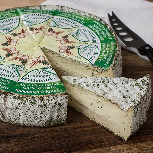 igourmet Fromager d'Affinois with Garlic and Herb (8 ounce)