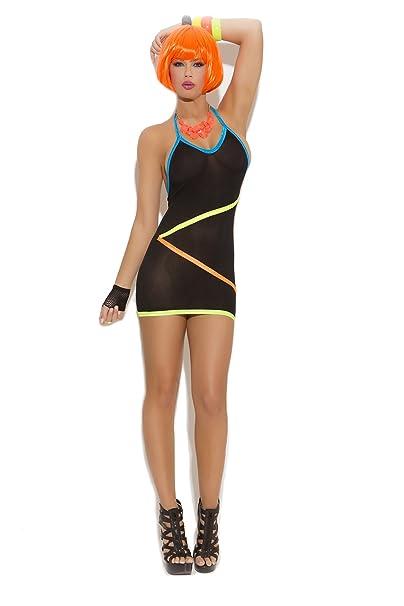 Sexy neon dresses