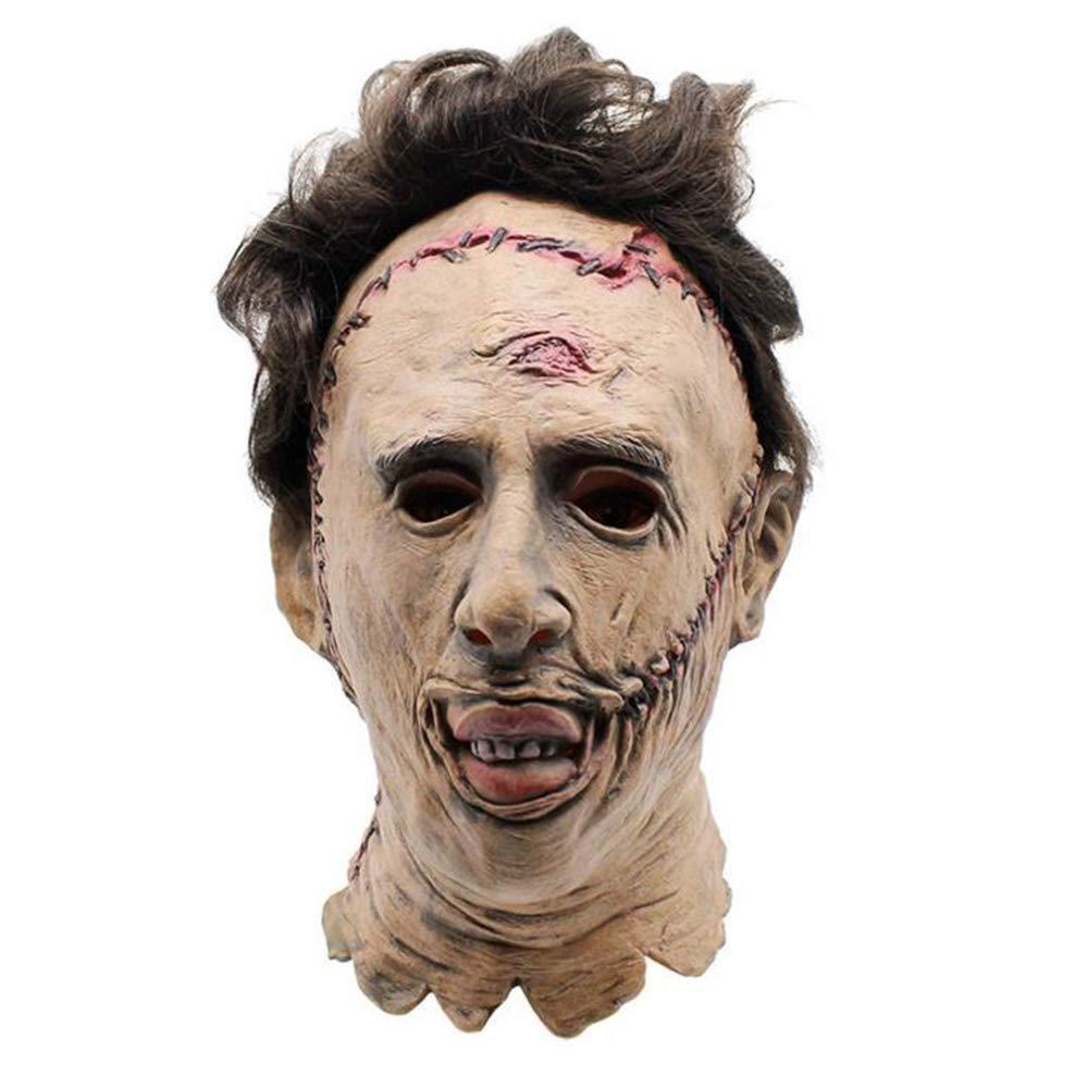 Halloween Horror Máscara Killer Máscara Película Atrezzo Látex Barra Máscara De Baile