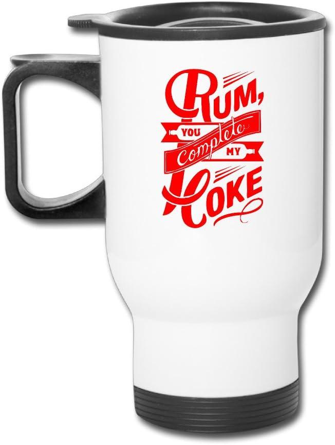 Ron y Coca Cola taza de moda Logo resistente mango: Amazon.es ...