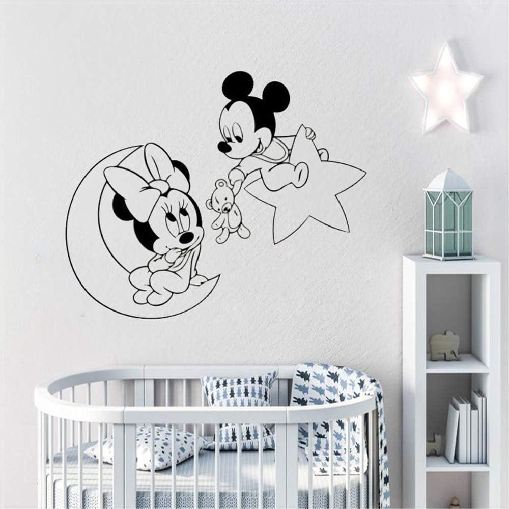 pegatina de pared Mickey Mouse Etiqueta de La Pared Decal Tatuajes ...