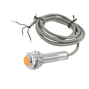 DC 6-36V NPN 3 hilos interruptor del sensor de proximidad inductivos 2 mm Tubular