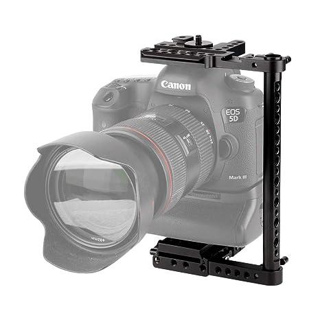 NICEYRIG Universal Cage Jaula para Canon EOS-1DC Nikon D3X Sony ...