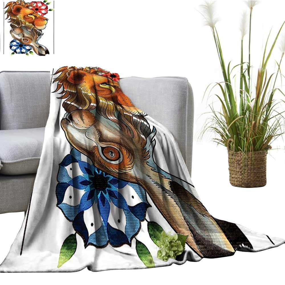 Amazon.com: YOYI Single-Sided Blanket Reversible Double Up ...
