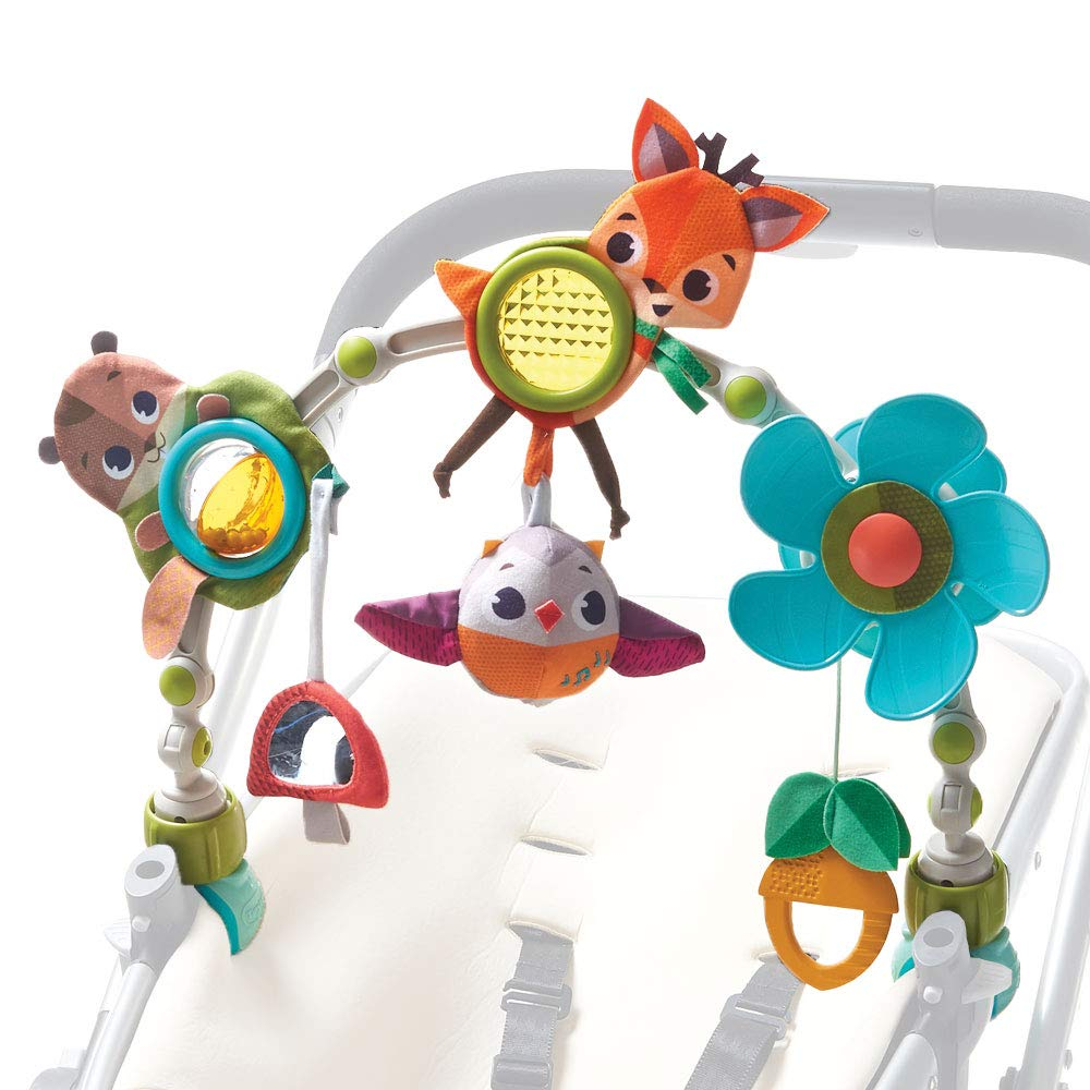 Tiny Love - Spielbogen Musical Nature Stroll - Into the Forest, mit Rasselspielzeug, nutzbar ab der Geburt (0M+), Universal Befestigung passend für fast alle Tragetaschen, Babyschalen oder Kinderwagen product image
