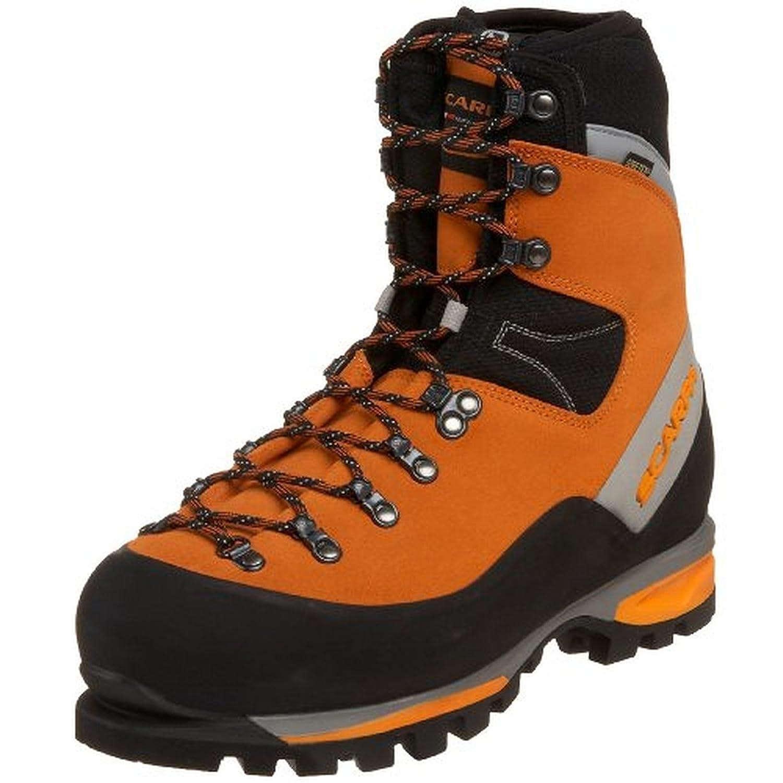 Scarpa Men's Mont Blanc GTX Mountaineering Boots & Etip Lite Gripper Glove Bundle