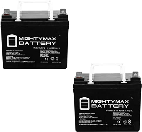 Mighty Max Battery 12V 35AH Wheelchair Battery Replaces 33ah Centennial CBM-33-2 Pack Brand Product