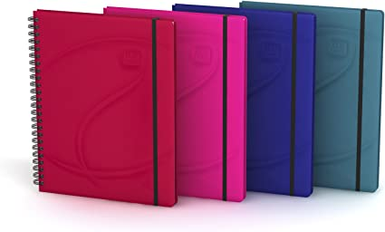 Oxford Beauty - Pack de 5 cuadernos microperforados doble espiral ...