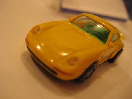 Euromodell (Germany) Yellow Porsche 911 Turbo Coupe (993) Plastic 1:87