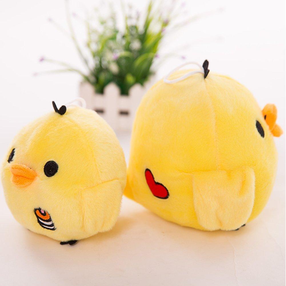 RONSHIN Juguete Relleno Amarillo del Polluelo Amortiguador Precioso Medio de la Almohada de la mu/ñeca de la Felpa Yellow 15cm