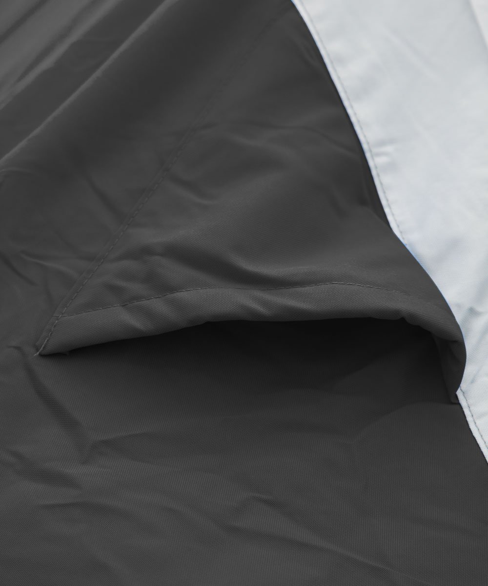 Black//Gray Budge Deluxe Jet Ski Cover Fits Jet Skis 109 to 120 Long