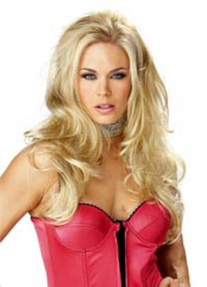 Blond Perruque cheveux longs Qubeat GmbH