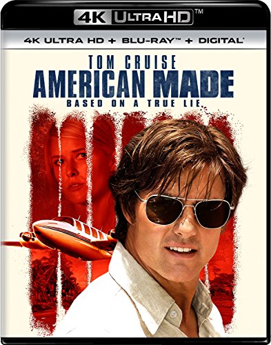 4K Blu-ray : American Made (With Blu-Ray, 4K Mastering, 2 Pack, 2 Disc)