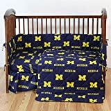 College Covers Michigan Wolverines 5 Piece Baby Crib Set