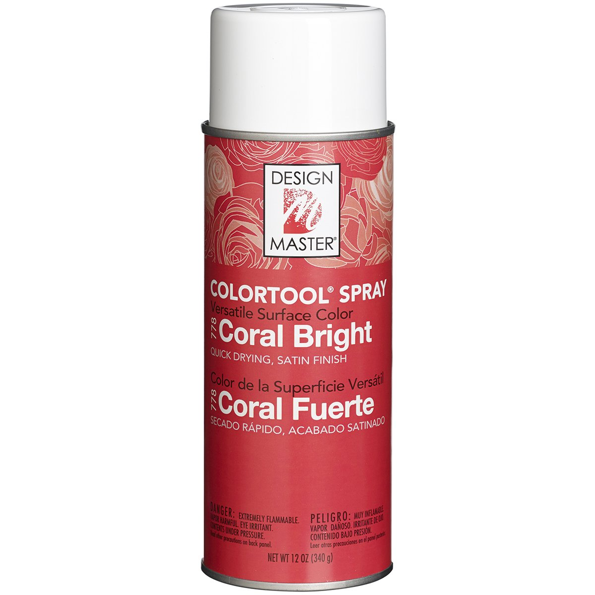 Coral Pink Spray Paint Part - 17: Amazon.com: DESIGN MASTER 778 Spray Paint, Coral Bright: Arts, Crafts U0026  Sewing