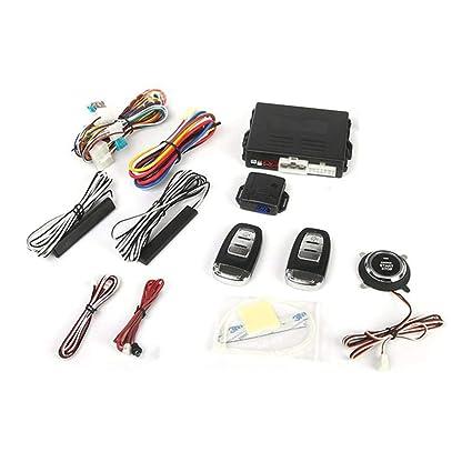 RoadRoma Sistema de Alarma Universal para automóvil con ...