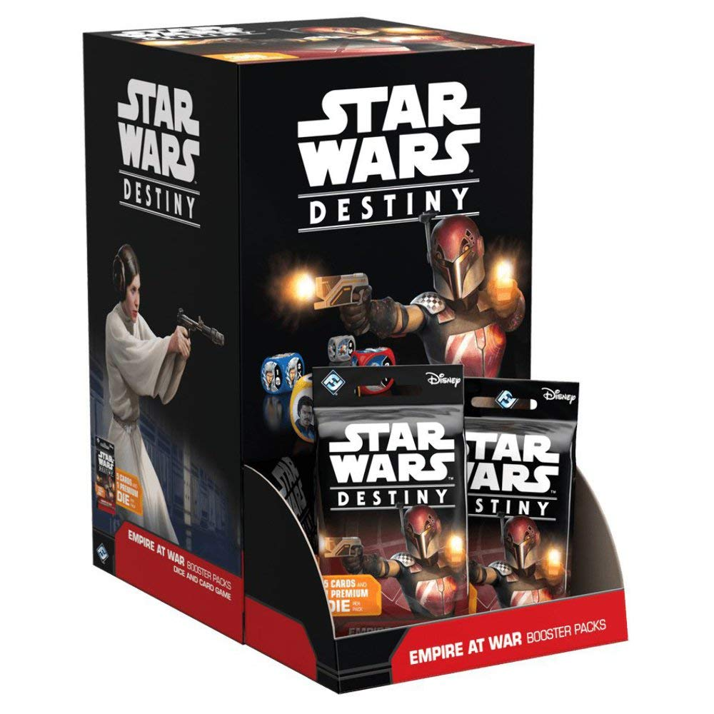 Fantasy Flight Games ffgswd07 Destino de Star Wars: Empire at War Booster Display