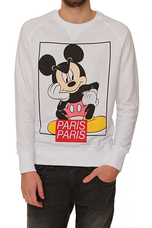 Eleven Paris Sweatshirt FIX PARMI SW, Color: White