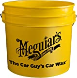 Meguiar's Yellow Bucket, 3.5 gallon capacity