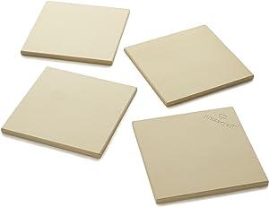 The Companion Group PC0103 Square Stone Tile, Set of 4