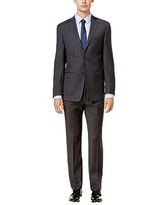 Amazon.com: Calvin Klein – Traje de hombre de corte delgado ...