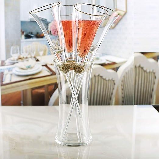 Personalised Engraved Diamante Champagne Flute Swirl Cut Birthday Wedding 18 21