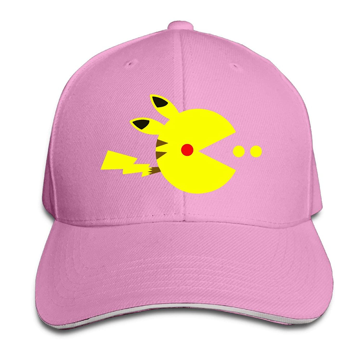 MYDT1 Pac-pikachu Outdoor Sandwich Peaked Caps Hats For Unisex