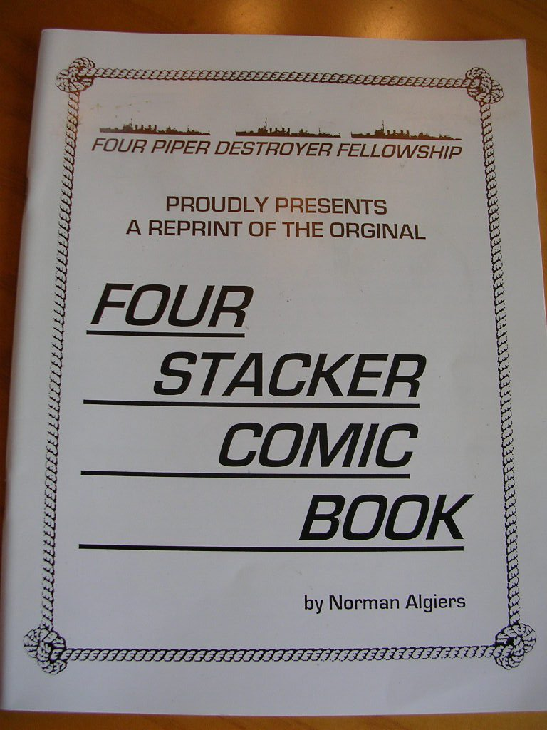 Download Four Piper Destroyer Fellowship Proudly Presents A Reprint of the Original Four Stacker Comic Book (Paperback - 2000) PDF