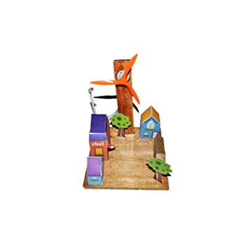 Buy ecocity model windmill powered science projects working ecocity model windmill powered science projects working models diy science experiment kit solutioingenieria Image collections